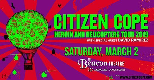 Citizen Cope at Beacon Theatre