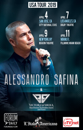 Alessandro Safina at Beacon Theatre