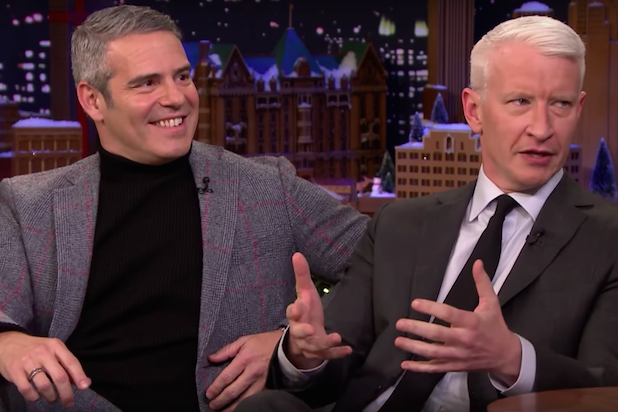 Anderson Cooper & Andy Cohen at Beacon Theatre
