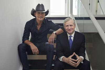 Tim McGraw & Jon Meacham at Beacon Theatre