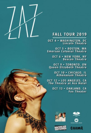 Zaz at Beacon Theatre
