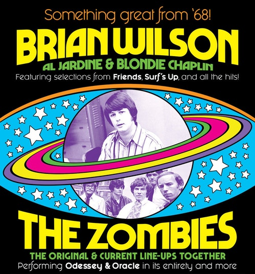 Brian Wilson & The Zombies at Beacon Theatre