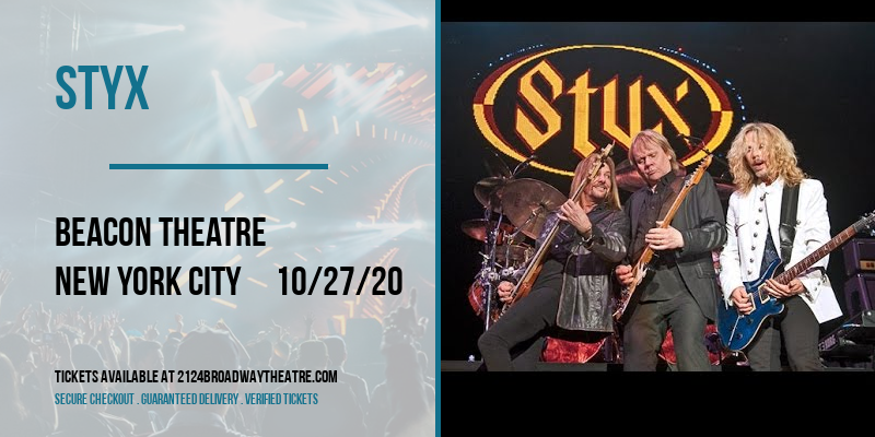 Styx at Beacon Theatre