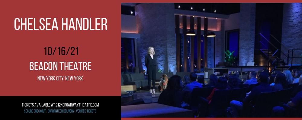 Chelsea Handler at Beacon Theatre