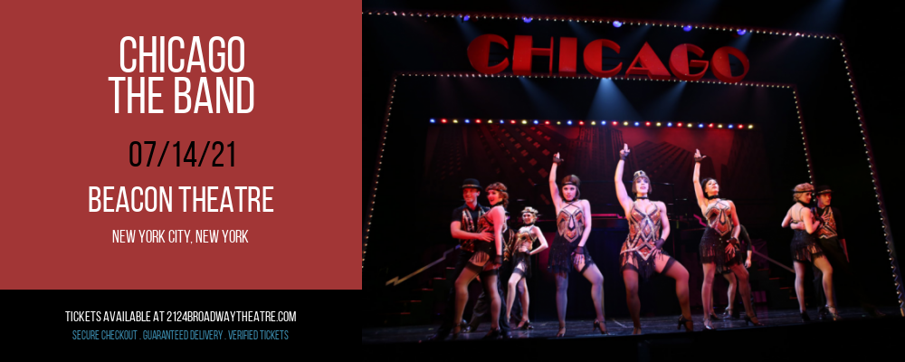 Chicago - The Band at Beacon Theatre