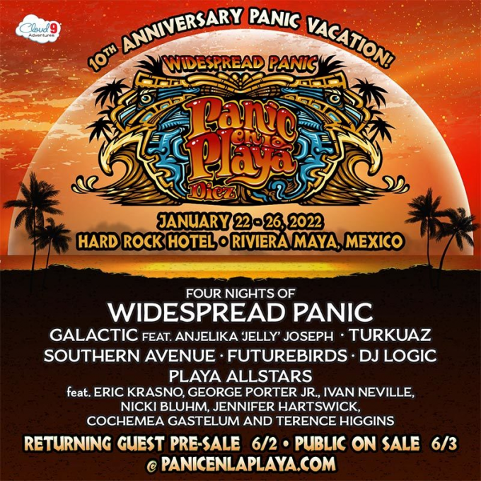 Widespread Panic - 5 Day Pass at Beacon Theatre