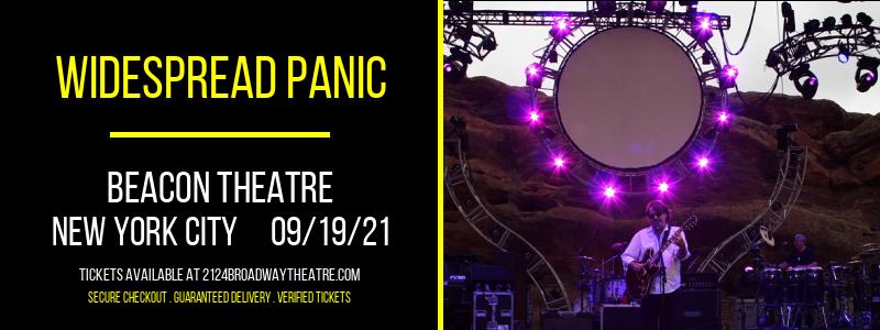 Widespread Panic at Beacon Theatre
