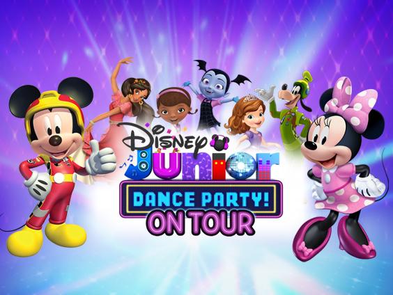 Disney Junior Dance Party at Beacon Theatre