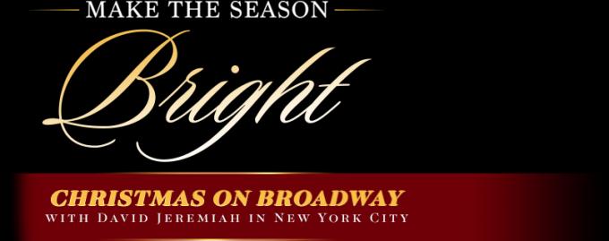 Christmas On Broadway: David Jeremiah at Beacon Theatre