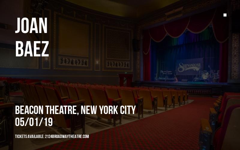 Joan Baez at Beacon Theatre