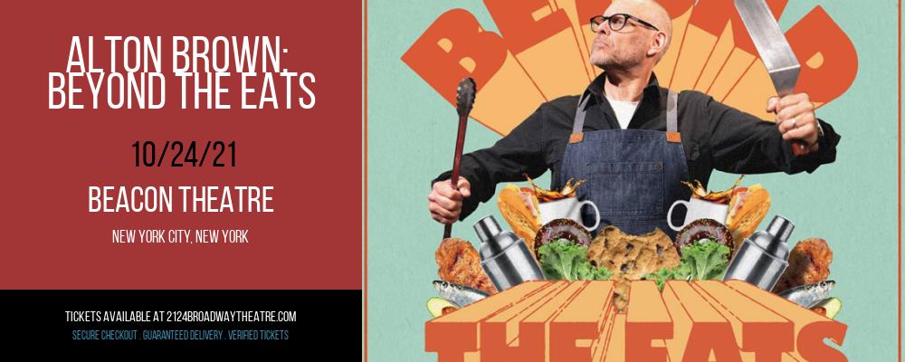 Alton Brown: Beyond The Eats at Beacon Theatre